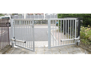 Варианты установки автоматики для распашных ворот